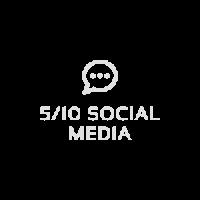 5/10 Social Media